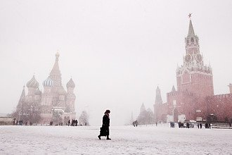 Fine art landscape photograph - Red Square