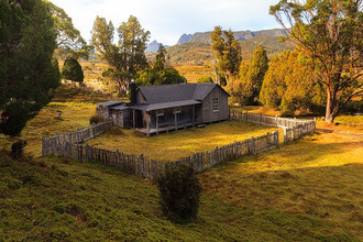 Fine art landscape photograph - Mt Kate's Hut